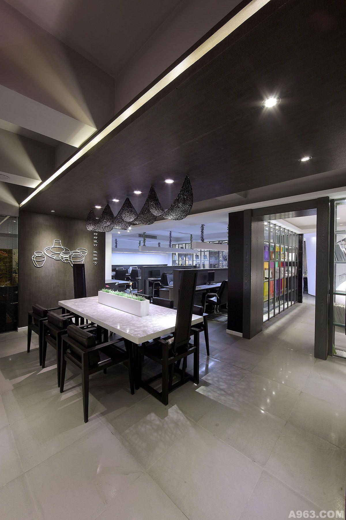 【福建原创】张建琛办公空间设计--福州翰诺装饰办公