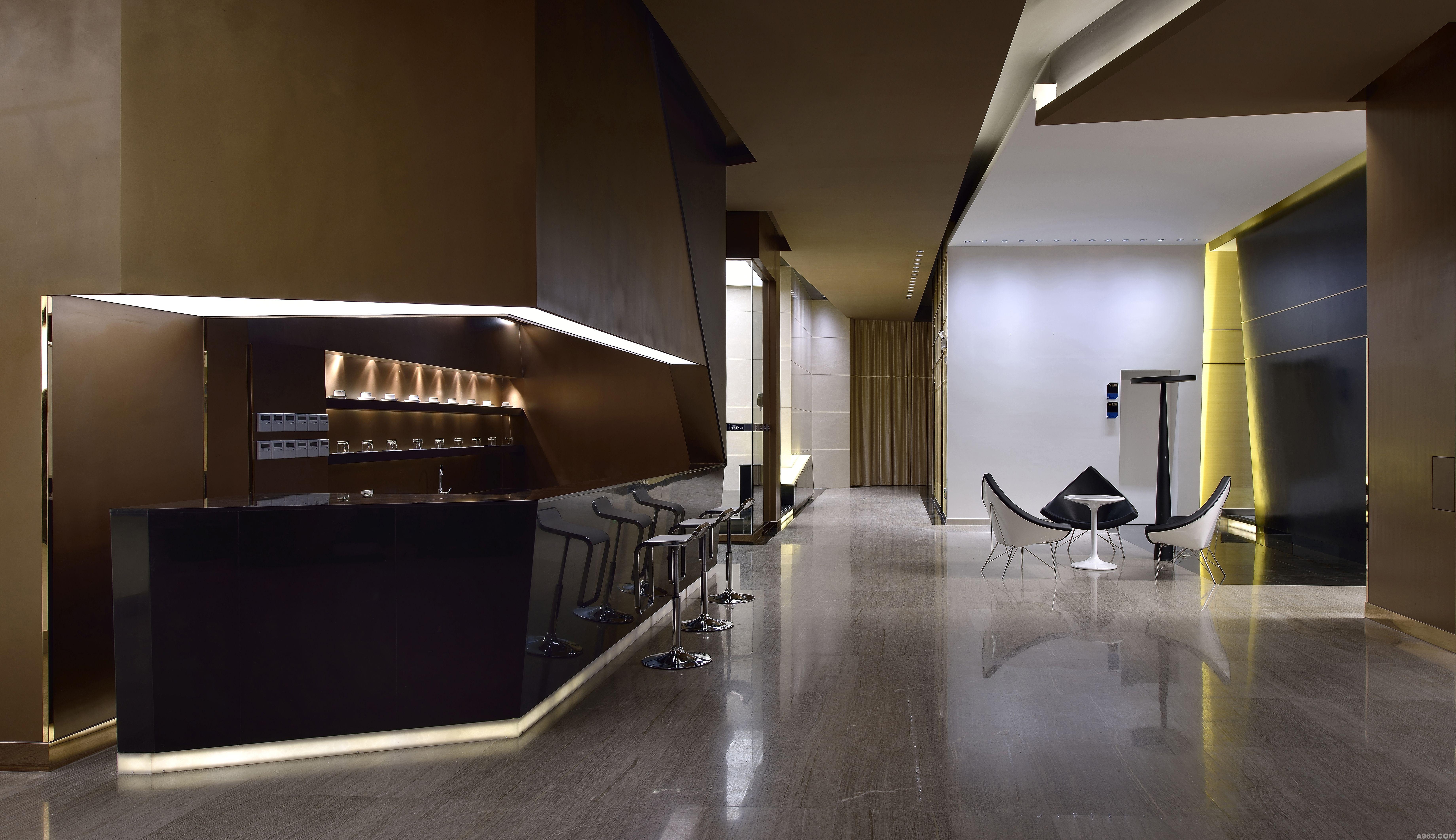宇洋中央金座 - 商业空间 - 福州室内设计网_福州室内