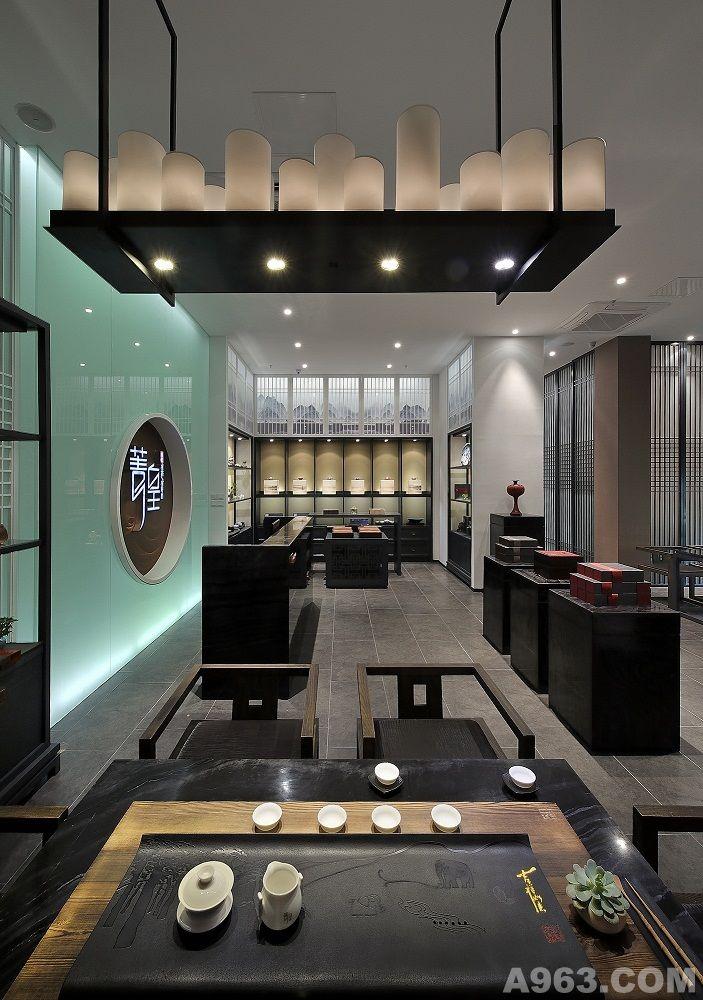 菁皇茗茶会所 - 会所设计 - 福州室内设计网_福州室内