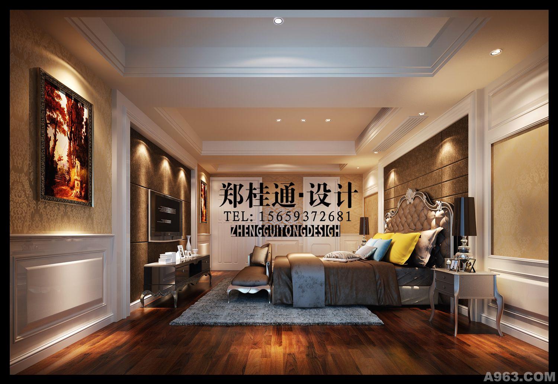 中天金海岸-欧式奢华别墅豪宅-郑桂通设计作品