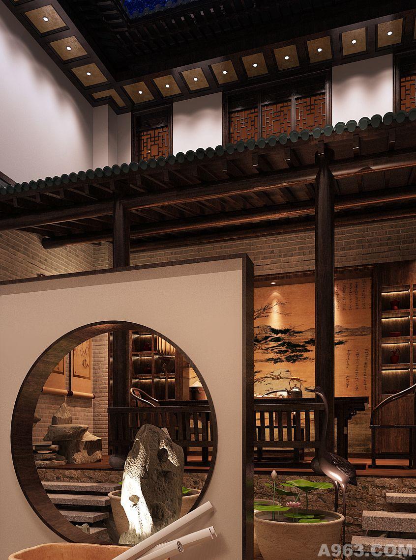 室内屋檐装饰效果图