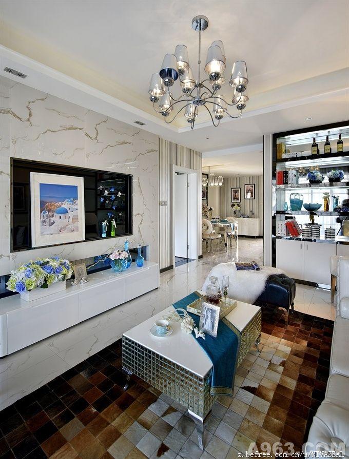 客厅-庄锦星设计作品.现代装饰风格