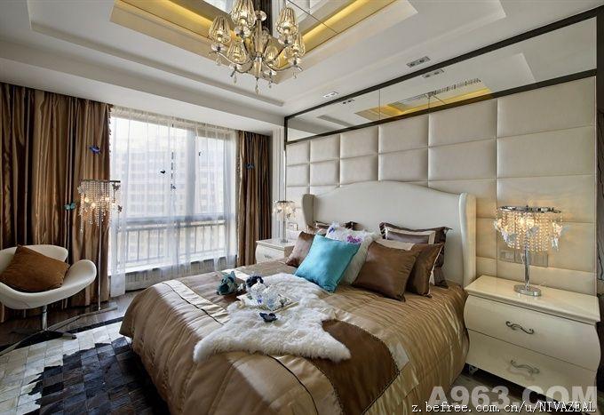 卧室-庄锦星设计作品.现代装饰风格