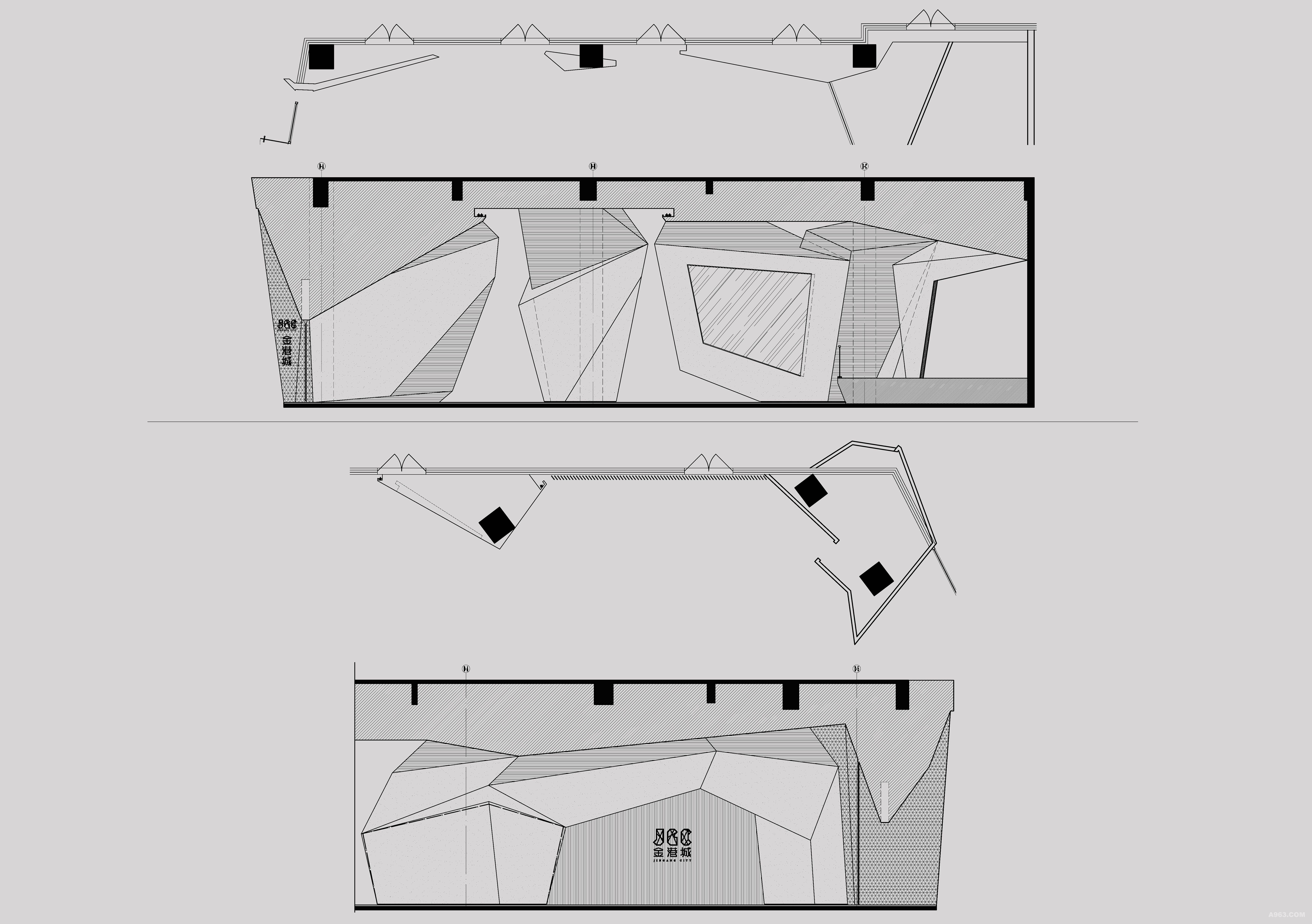 健身工作室地面设计图展示
