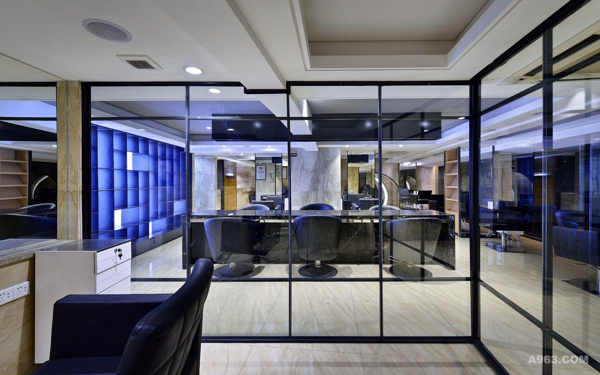 发廊屋内装修设计