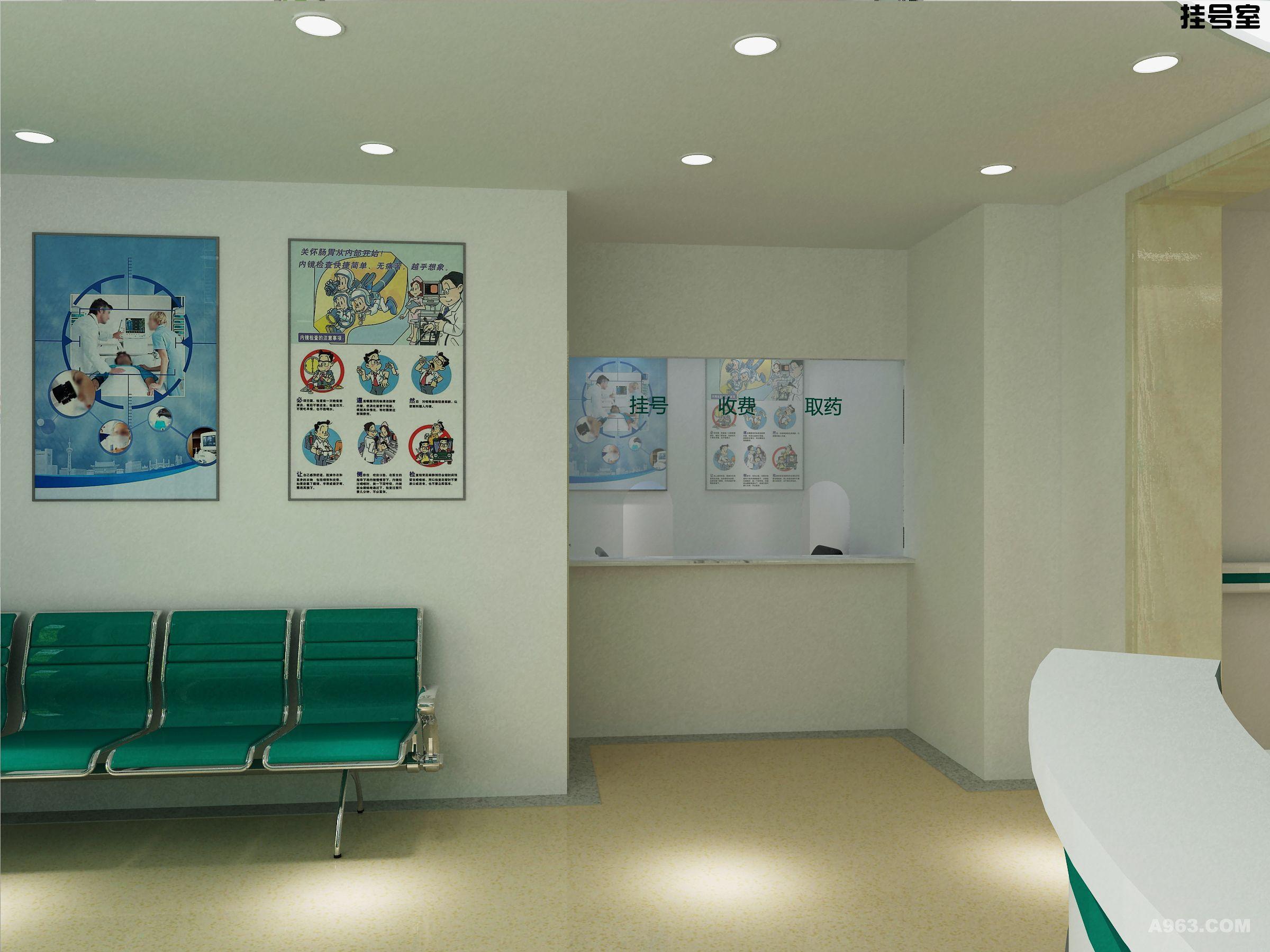 社区医院 - 医疗空间 - 第2页 - 张昱设计作品案例